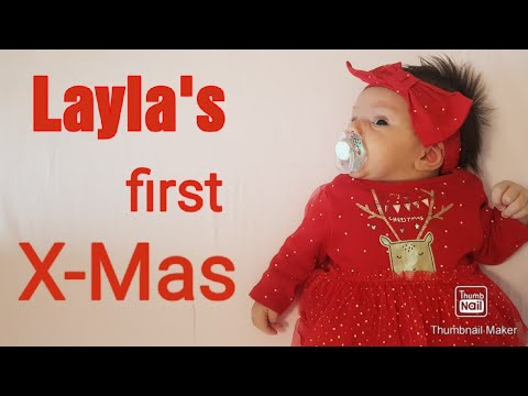 First Christmas 2020 | Covid Baby | little Layla | Baby blogger |