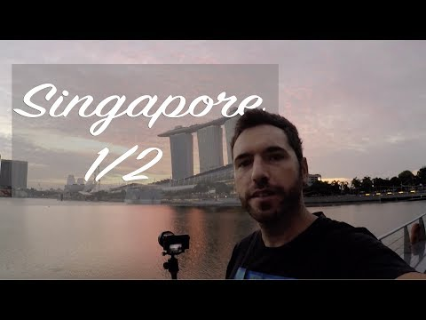 Travel and Photography:  Singapore 1/2. Marina Bay.