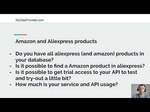 Amazon and Aliexpress products dropshipping