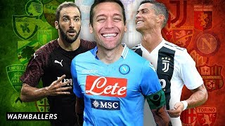 MY 2018-19 SERIE A PREDICTIONS!!!