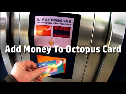 How to add value to your Octopus Card in Hong Kong