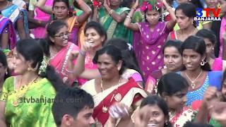 Got Banjara Teej Celebrations Dhom Dham Dance and Rali at Kamareddy Town // 3TV BANJARAA