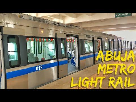 ABUJA METRO LIGHT RAIL | THE NEW METRO LIGHT RAIL TO ABUJA AIRPORT NIGERIA