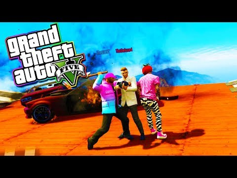 The Up-N-Atomzer! - GTA 5 with The Crew!