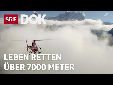 Die Bergretter in Himalaya – Rettungshelikopter in eisigen Höhen | Doku | SRF DOK