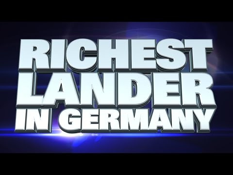 10 richest states in Germany 2015
