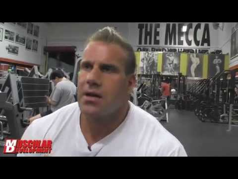 Delt Destruction with 4X Mr Olympia Jay Cutler Road to OLYMPIA 9812-The BodyBuilder