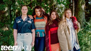 What Happens at Model Training Camp ft. Iskra Lawrence, Kamie Crawford and Katy Hansz   Teen Vogue