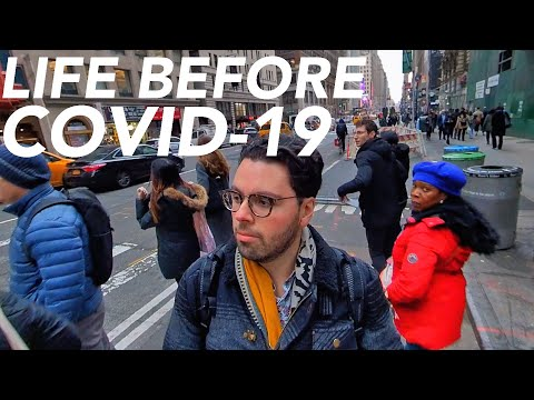 NYC Life Before and After Covid-19