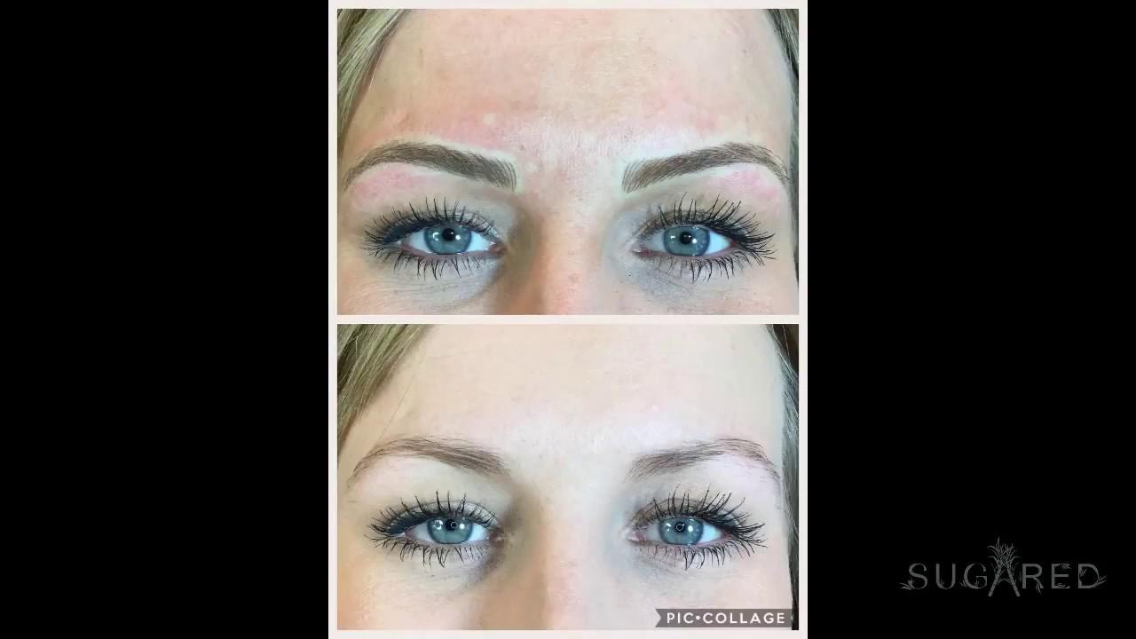 Microblading Permanent Eyebrow Makeup | Sugared - South Lake Tahoe