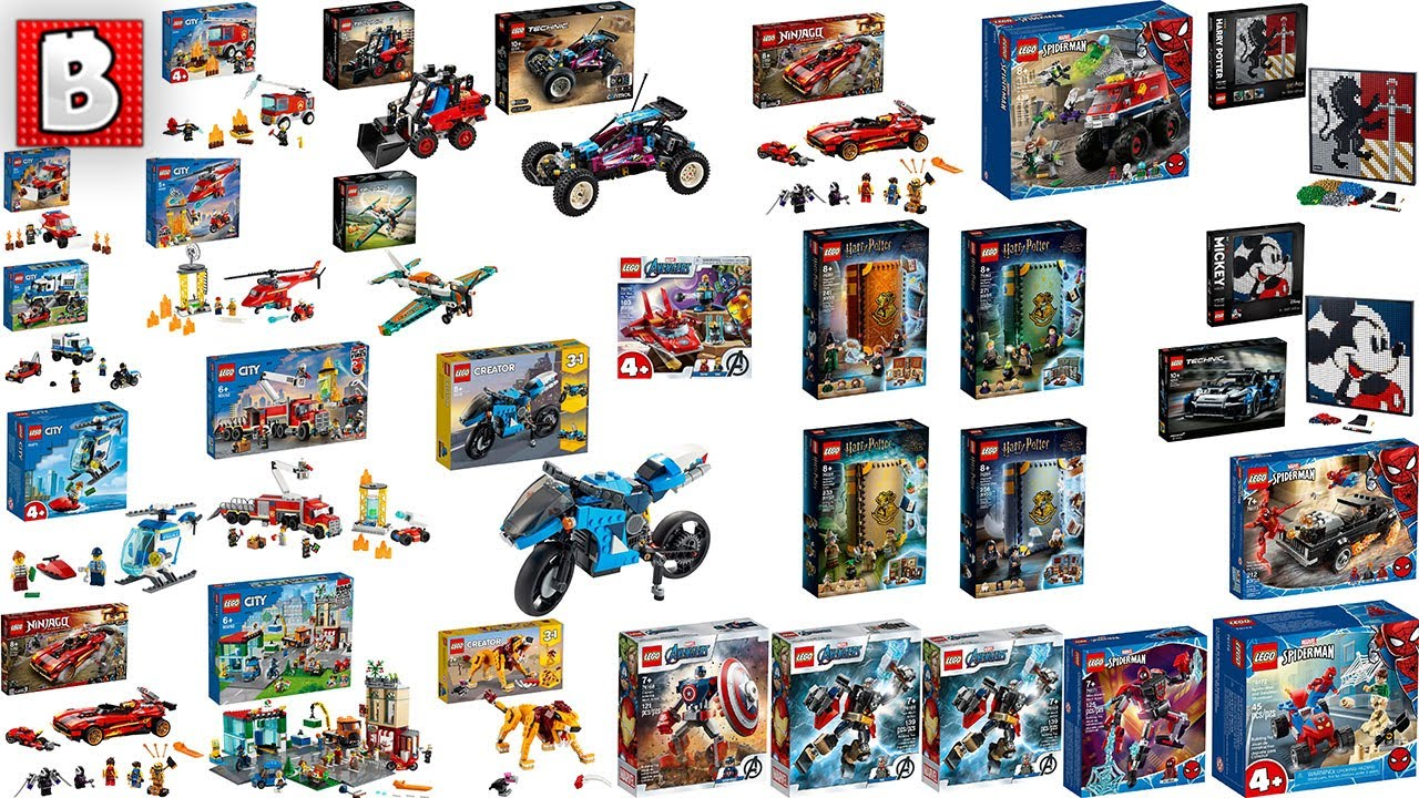 LEGO Winter Wave Sets REVEALED! Star Wars, Harry Potter, Marvel, City, Creator, Technic and MORE!