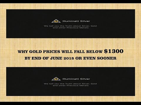 Why Gold will fall below $1300 by June 2018