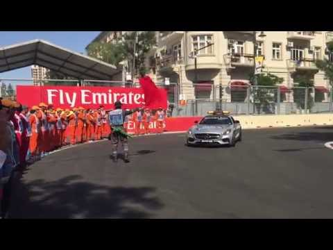 European Grand Prix, Baku 2016, Formula 1 Sector N2 Marshals Report Video