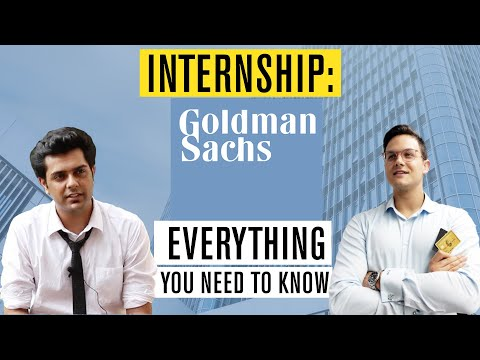 Typical day of a Goldman Sachs Intern (and how to score an internship)