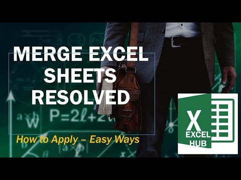 Merge All Excel Files In To One Sheet Webm