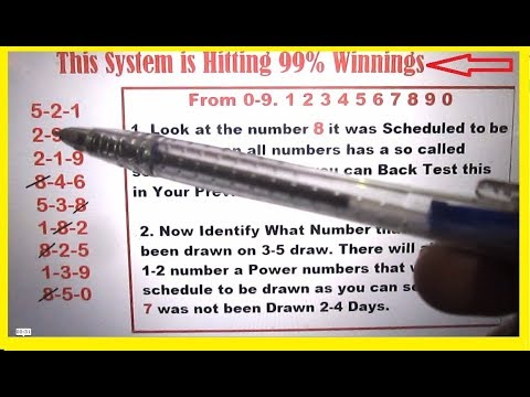 Win Pick 3 Lottery - Best Pick 3 Technique to capture winnings Everytime