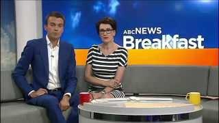ABC News Breakfast hosts Michael and Virginia