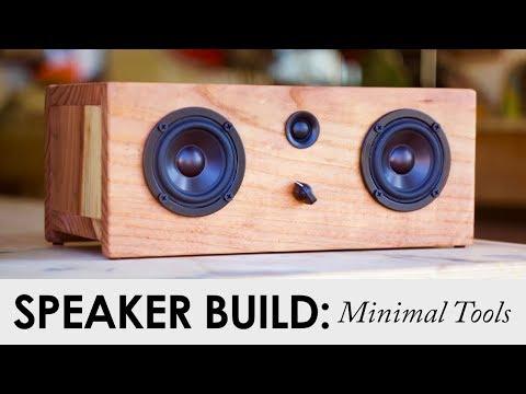 Minimal Tool Bluetooth Speaker    FOR UNDER $90    DIY Speaker Project