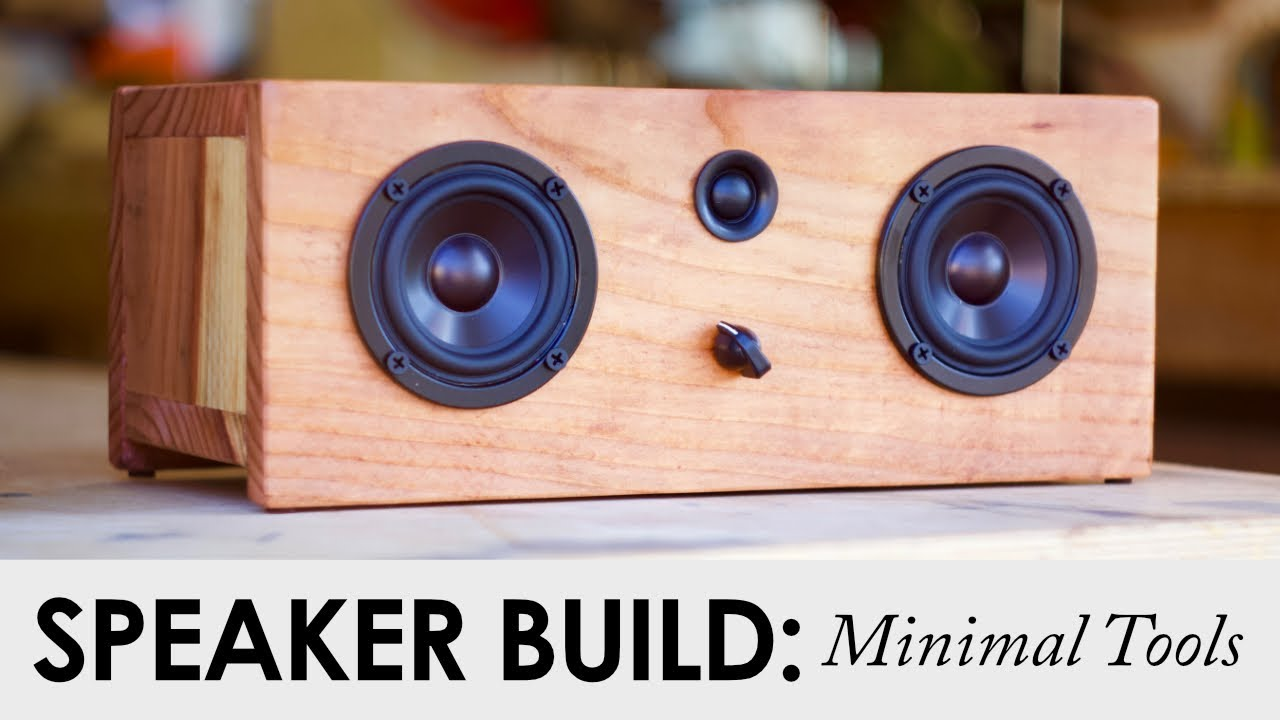 Basic Tool Bluetooth Speaker Build || FOR UNDER $90 || DIY ...