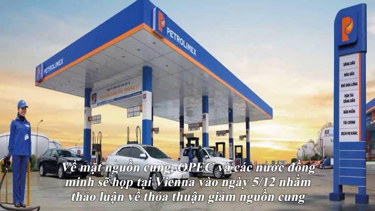 Giá xăng dầu hôm nay 27/11: Đà tăng vẫn chưa dứt nhờ dự báo tồn kho dầu thô Mỹ giảm