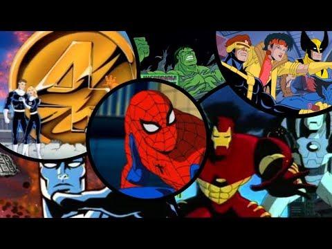 Marvel-All 90s Cartoon Openings
