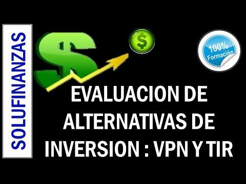 EVALUACION DE PROYECTOS DE INVERSION 1 : VPN Y TIR