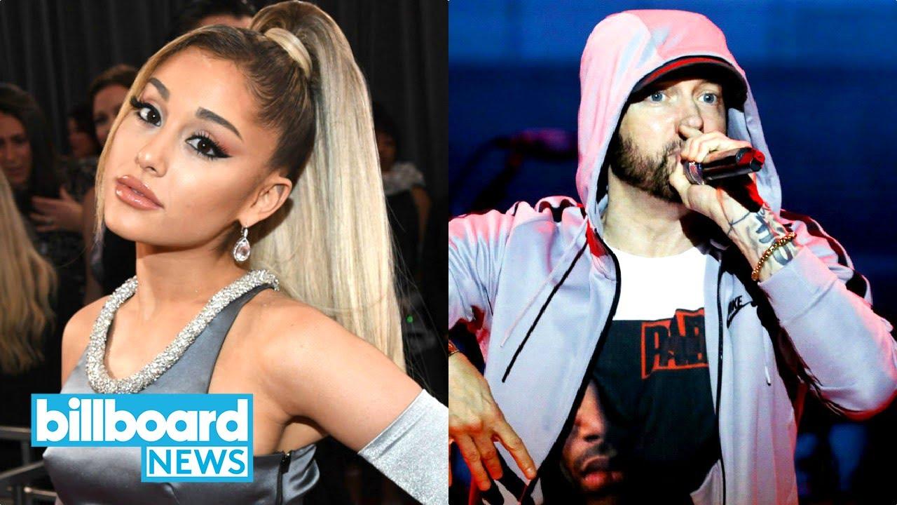 Eminem's Surprise Album, Lady Gaga Fangirls Over Ariana Grande's Positions & More | Billboard News