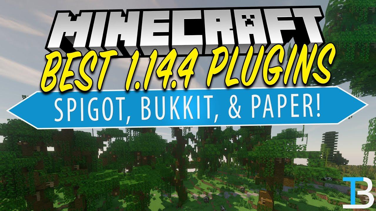 Top 5 Best Plugins For Your Minecraft 1 14 4 Server (Best Plugins For  Bukkit/Spigot!)