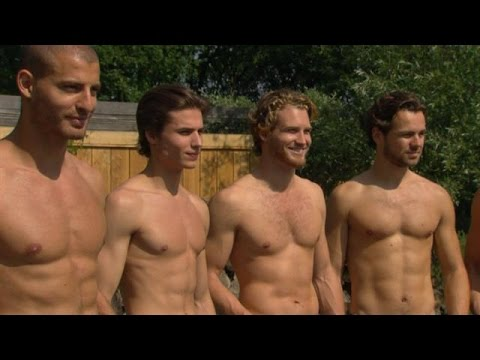 Welp Sexy boys voor de fotoshoot! - HOLLAND'S NEXT TOP MODEL - YouTube SS-54