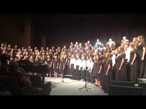 Lava Ridge Intermediate Honors Choir, Voice Male