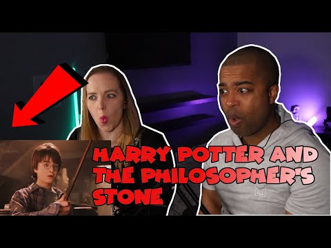 WATCHING Harry Potter For The VERY FIRST TIME ( Jane And JV's REACTION )