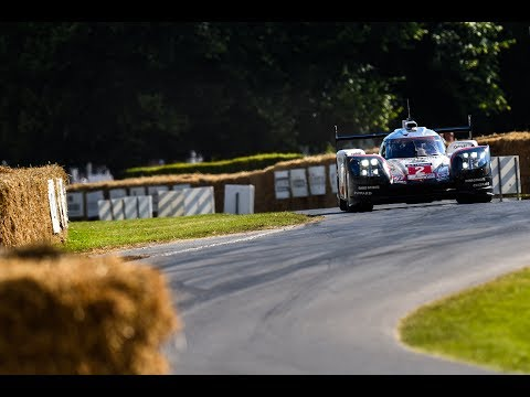 The Le Mans winning 919 Hybrid stuns the crowds at Goodwood Festival of Speed 2017