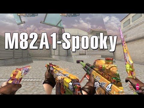Test vũ khí mới Barrett M82A1 Spooky cùng Quang Brave