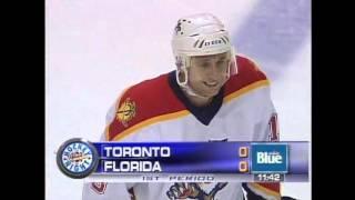 Florida Panthers Pavel.Bure NHL 2001 03 17 TOR FLA
