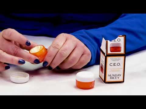Sunday Riley C.E.O. Vitamin C + E Antioxidant Protect and Repair Moisturizer Review