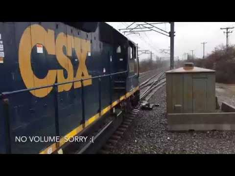 CSX B710 in Westwood, MA @ Route 128