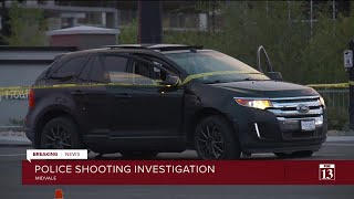 Man shot, killed by police in Midvale