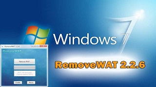 How to Activate Windows 7/8/10 Using Removewat 2.2.6 (100% Working NEW 2017)