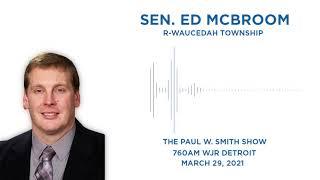 Sen. McBroom joins the Paul W. Smith Show