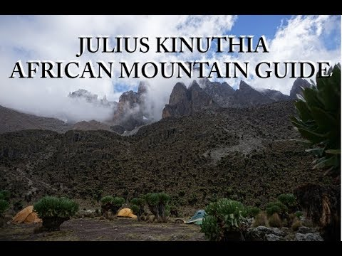 AFRICAN MOUNTAIN GUIDE - Julius Kinuthia