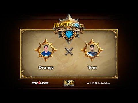 Orange vs Tom, Hearthstone World Championship 2017