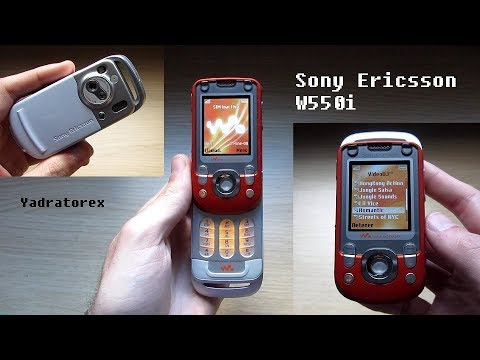 Sony Ericsson W550i - Full review of a Swivel phone