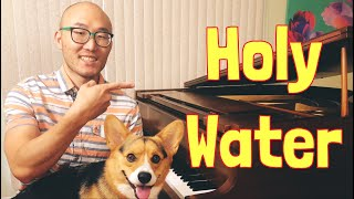 """🔴How to Play Holy Water"""" on Piano (Easy Lesson)"""