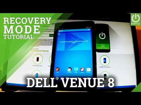 DELL Venue 8 Recovery Mode / Enter / Quit DELL RECOVERY