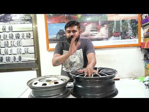 Alloys wheels VS Steel Rims! इनमे से कौन बेहतर है! #Kwikfixinfo
