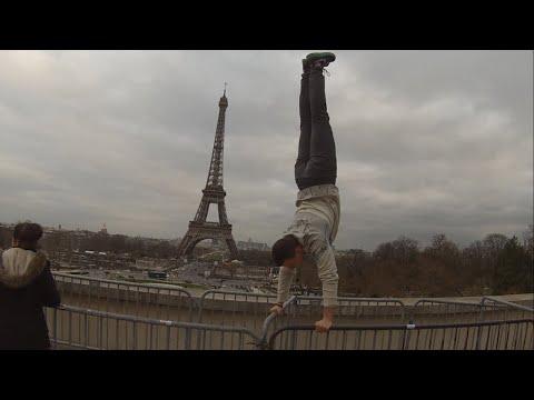 Litos Silva in Paris # Street Workout