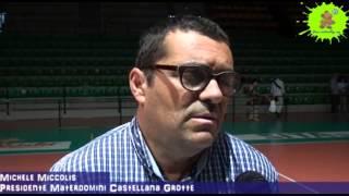04-05-2013: Intervista a Michele Miccolis presidente della Materdomini promossa in A2