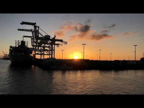 Tour of the Port Of Oakland