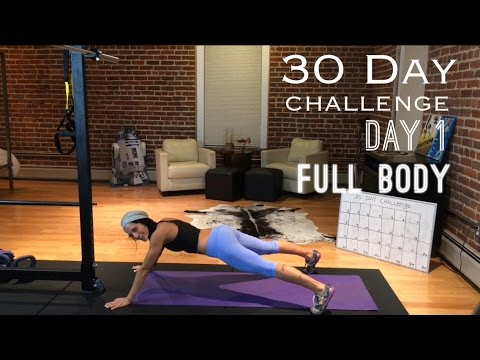 DAY 1:Betty Rocker 30-Day Bodyweight Challenge