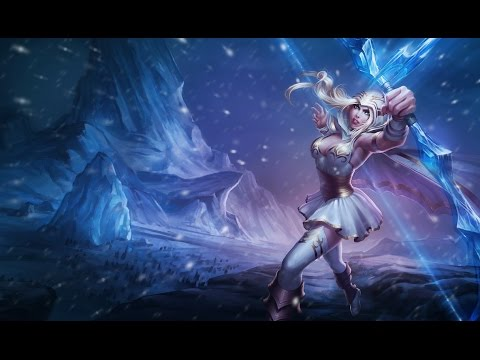 Ashe gameplay on League of Legends
